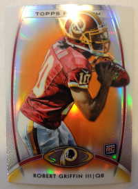 2012 Topps Platinum Orange Refractors #120 Robert Griffin III