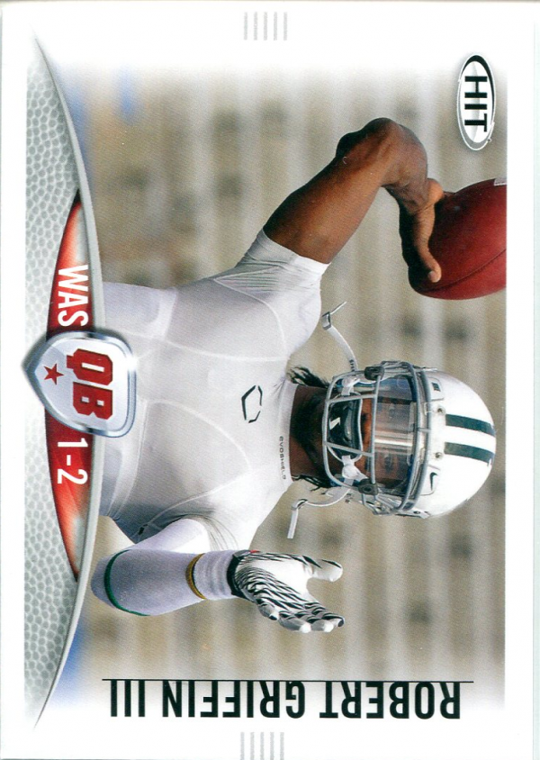2012 SAGE HIT #10A Robert Griffin III WAS 1-2