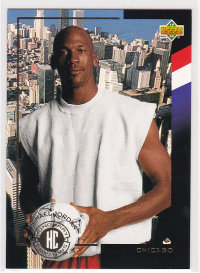 1994 Upper Deck World Cup Contenders English/Spanish Honorary Captains #C6 Michael Jordan front image