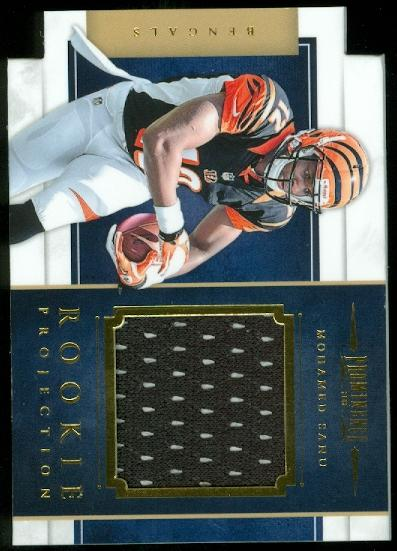 2012 Panini Prominence Rookie Projection Materials #27 Mohamed Sanu