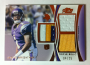 2012 Topps Prime Triple Relics #TRJW Jarius Wright
