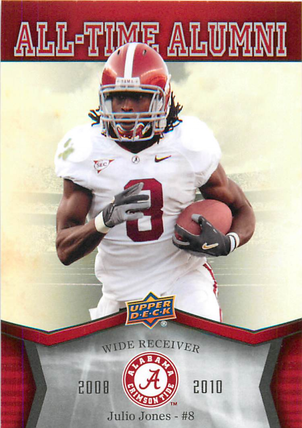 2012 Upper Deck Alabama All Time Alumni #ATAJJ Julio Jones