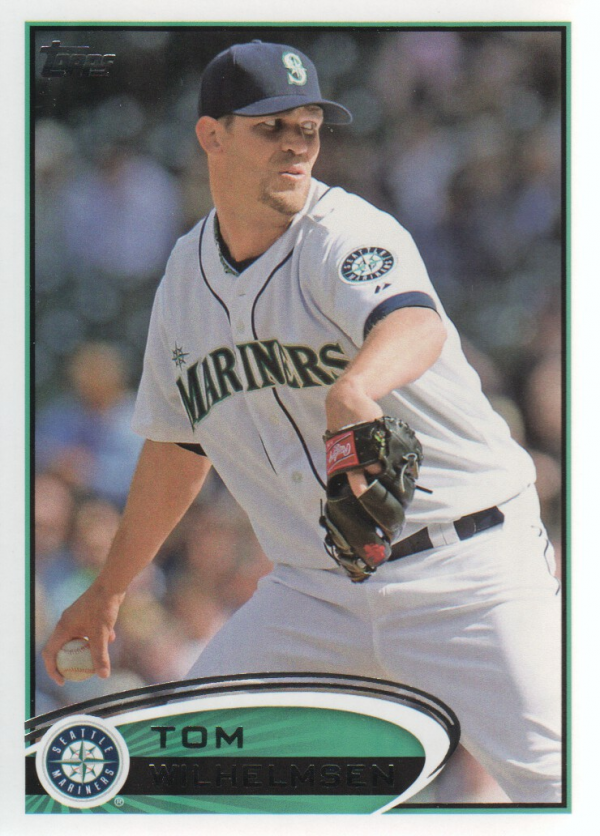 2012 Topps Update #US18 Tom Wilhelmsen