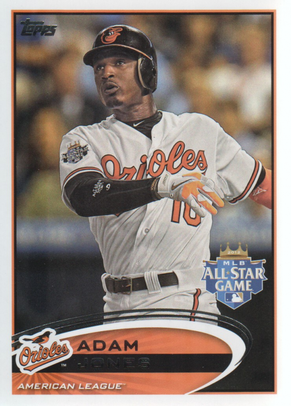 2012 Topps Update #US32 Adam Jones