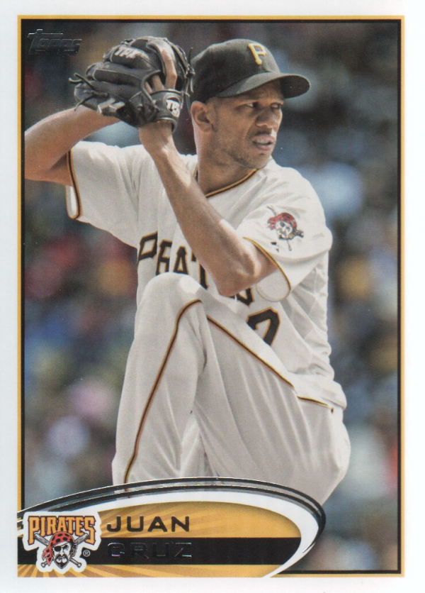 2012 Topps Update #US36 Juan Cruz