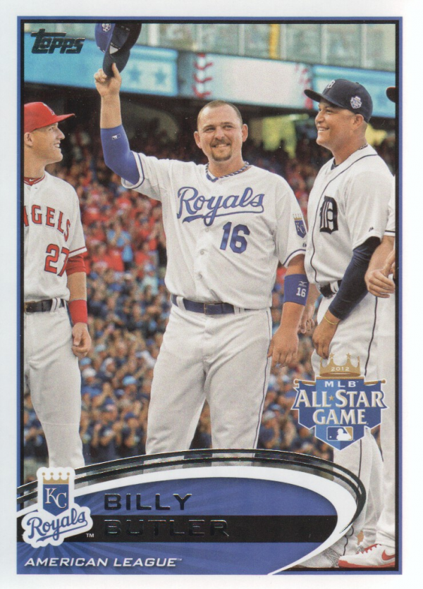 2012 Topps Update #US37A Billy Butler