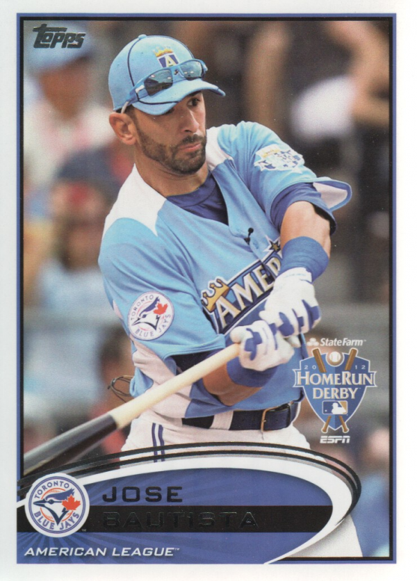 2012 Topps Update #US40 Jose Bautista