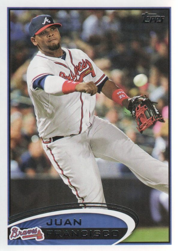 2012 Topps Update #US41 Juan Francisco