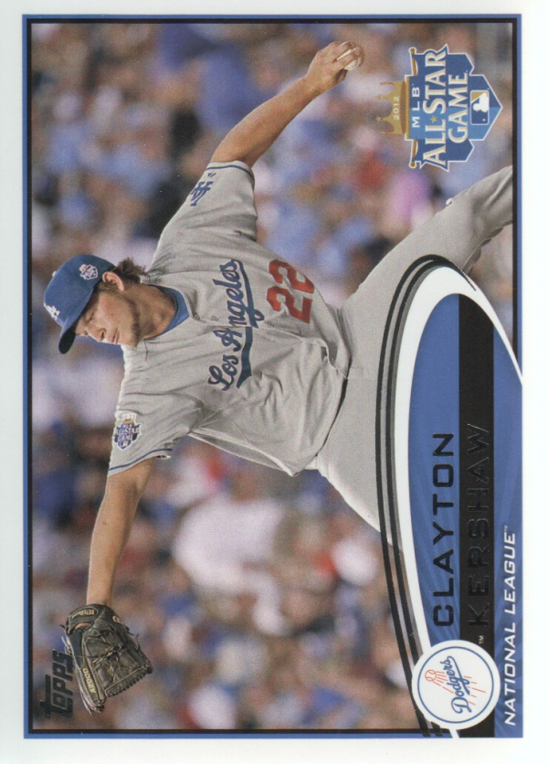 2012 Topps Update #US52A Clayton Kershaw