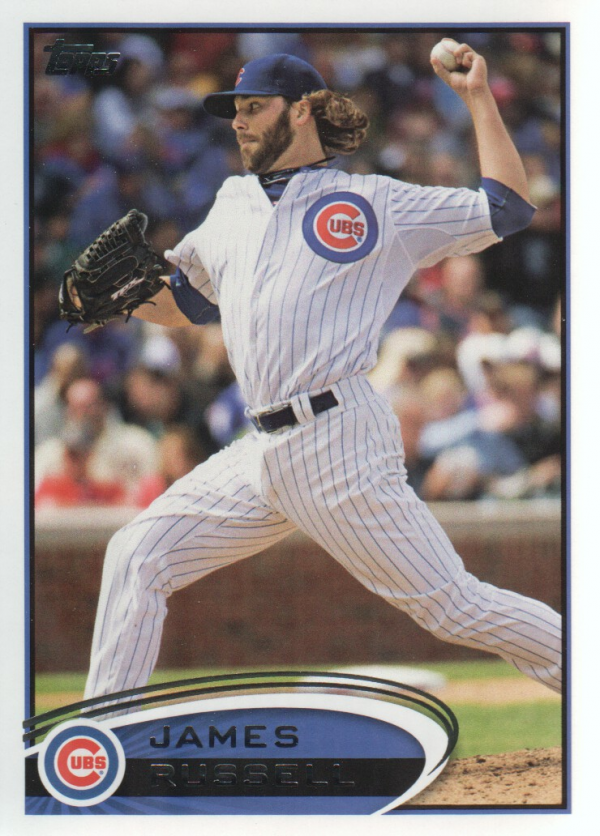 2012 Topps Update #US66 James Russell