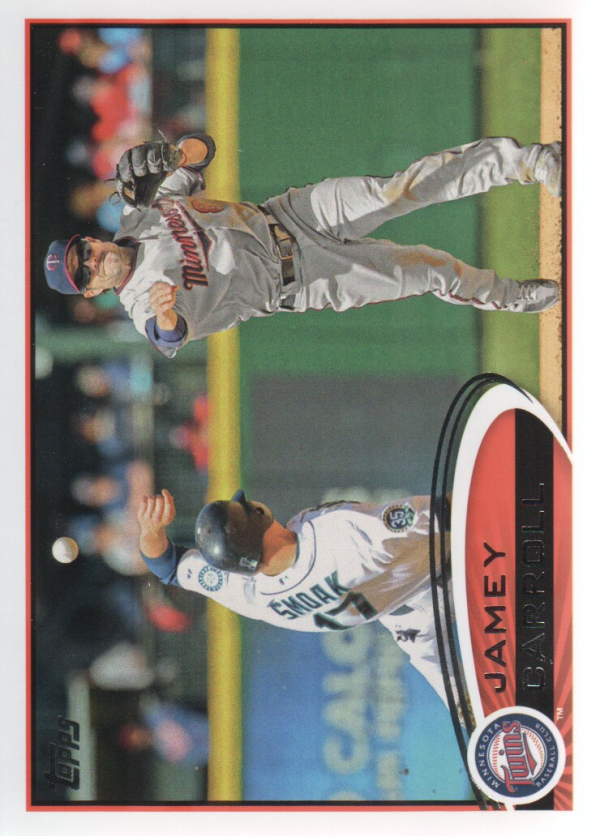 2012 Topps Update #US67 Jamey Carroll