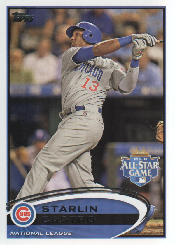 2012 Topps Update #US74 Starlin Castro