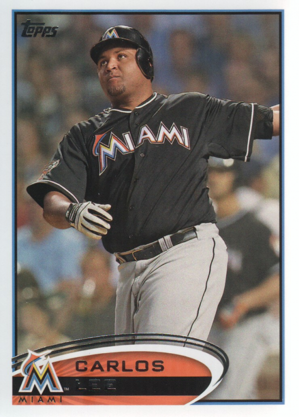 2012 Topps Update #US83 Carlos Lee