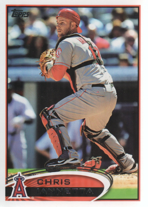 2012 Topps Update #US93 Chris Iannetta