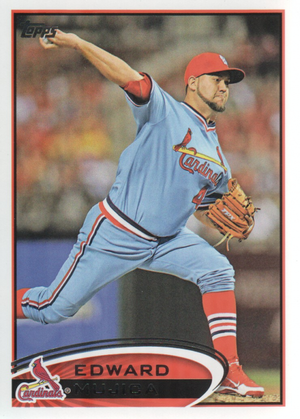 2012 Topps Update #US95 Edward Mujica