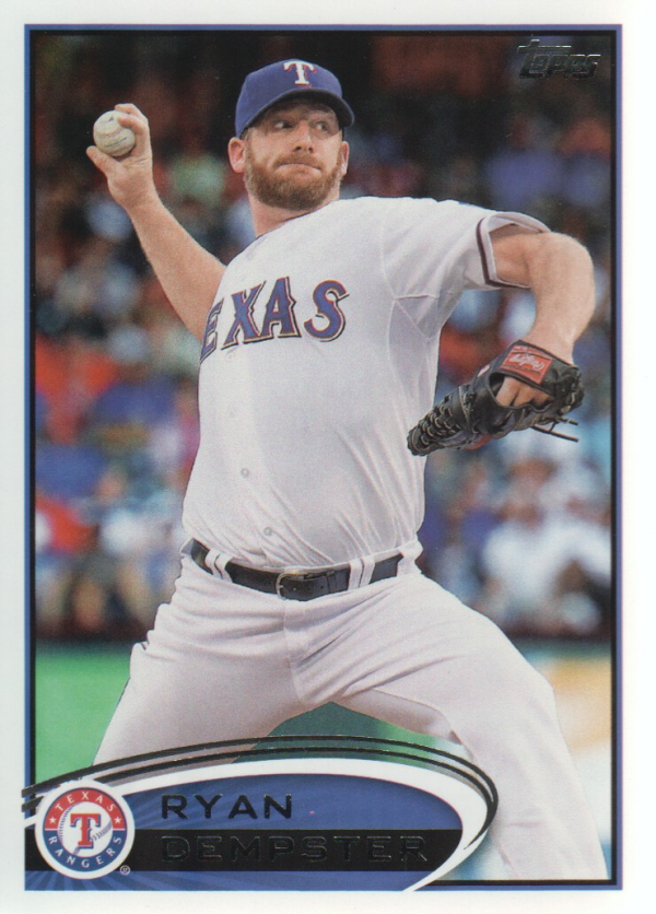 2012 Topps Update #US100 Ryan Dempster