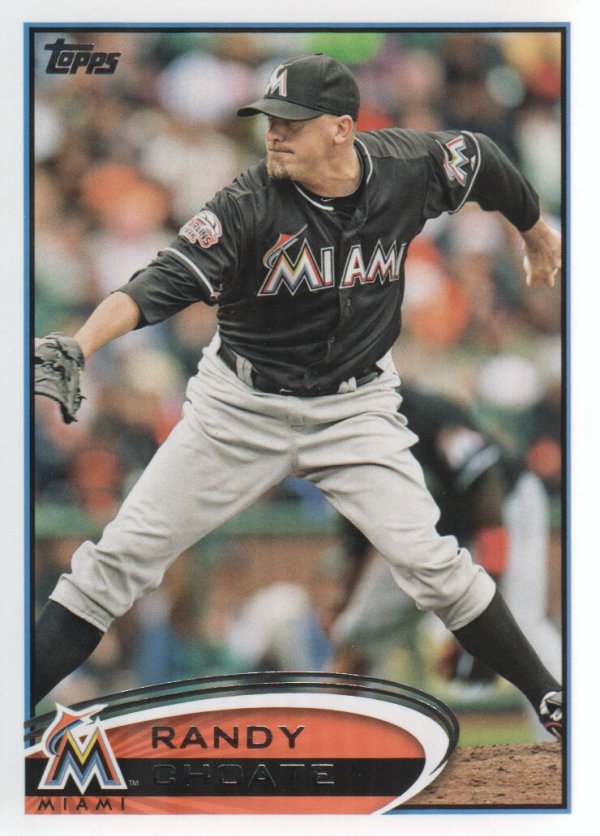 2012 Topps Update #US107 Randy Choate