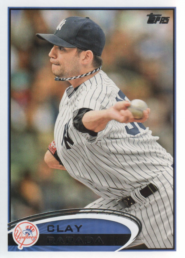 2012 Topps Update #US111 Clay Rapada