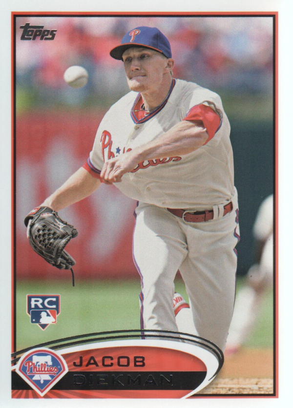 2012 Topps Update #US85 Jacob Diekman RC