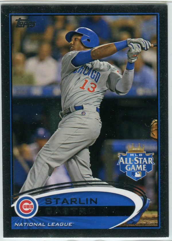 2012 Topps Update Black #US74 Starlin Castro