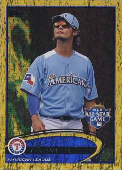 2012 Topps Update Gold Sparkle #US162 Yu Darvish