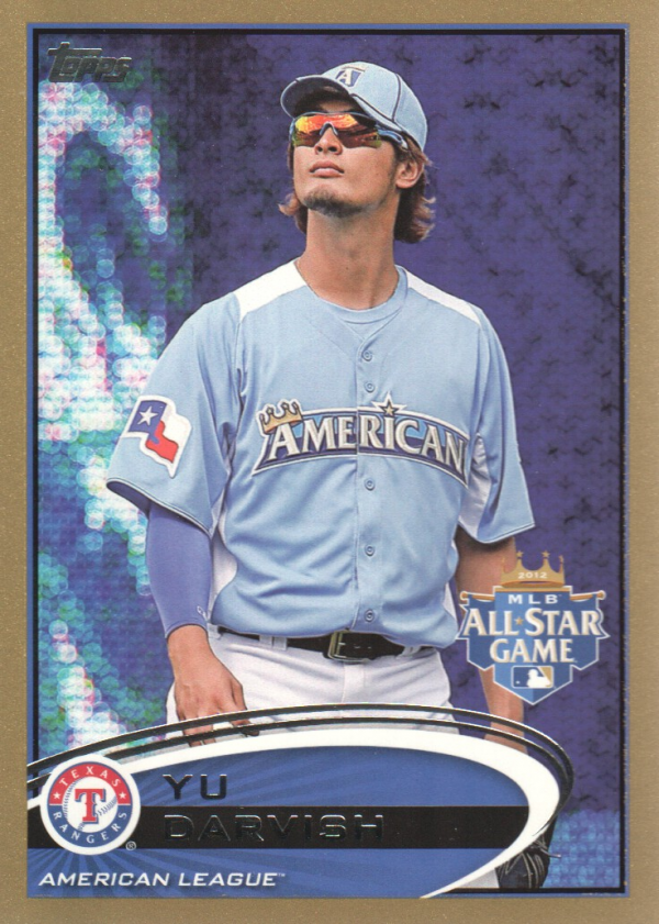 2012 Topps Update Gold #US162 Yu Darvish