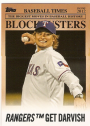 2012 Topps Update Blockbusters #BB14 Yu Darvish