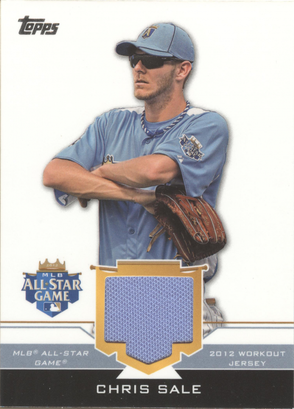 2012 Topps Update All-Star Stitches #CHS Chris Sale