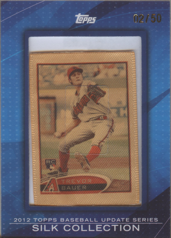 2012 Topps Silk Collection #SC206 Trevor Bauer