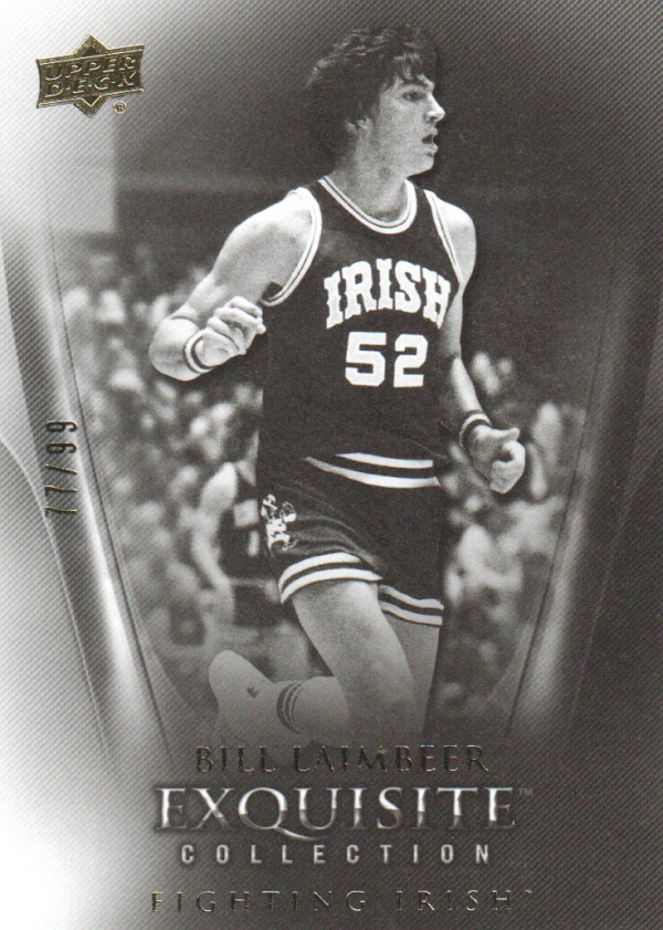 2011-12 Exquisite Collection #36 Bill Laimbeer