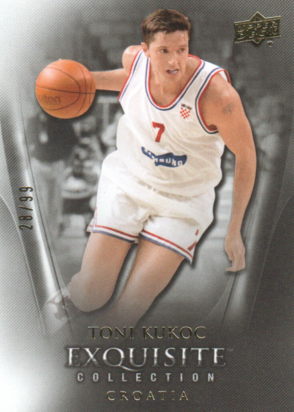 2011-12 Exquisite Collection #39 Toni Kukoc