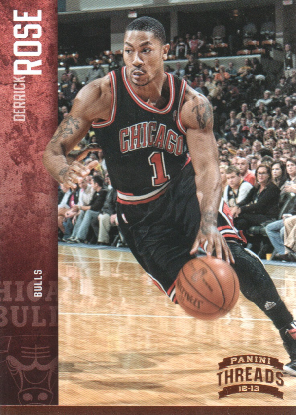 2012-13 Panini Threads #15 Derrick Rose