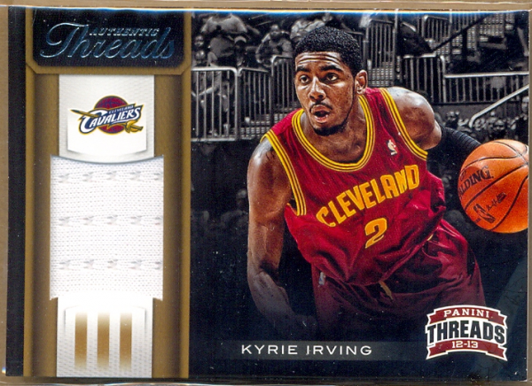2012-13 Panini Threads Authentic Threads #72 Kyrie Irving