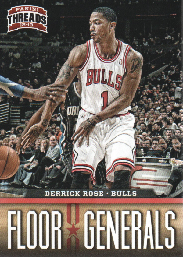 2012-13 Panini Threads Floor Generals #2 Derrick Rose