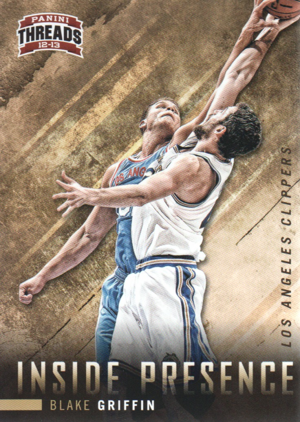 2012-13 Panini Threads Inside Presence #6 Blake Griffin