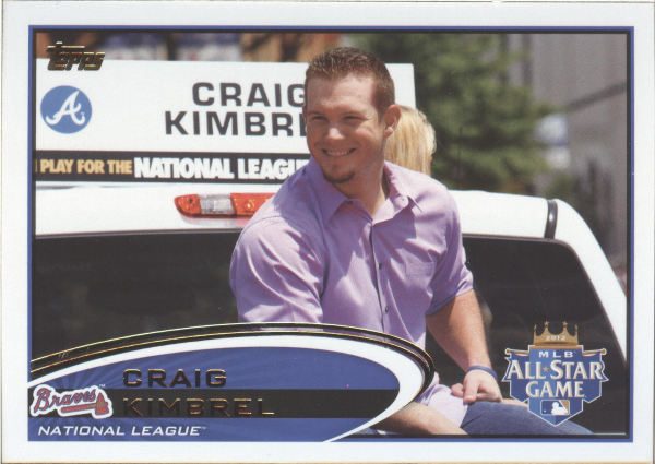 2012 Topps Update #US268B Craig Kimbrel/Dress shirt SP