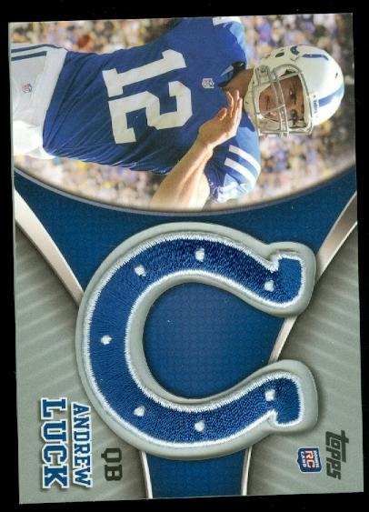 2012 Topps Factory Set Patch #TLPAL Andrew Luck