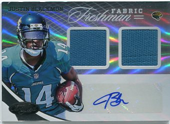 2012 Certified #319 Justin Blackmon JSY AU/299 RC