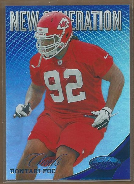 2012 Certified Mirror Blue #269 Dontari Poe