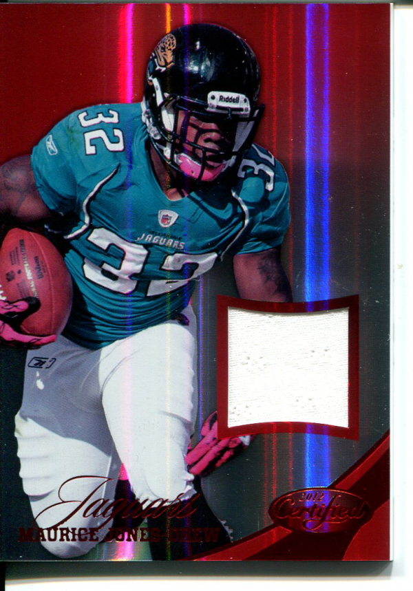 2012 Certified Mirror Red Materials #47 Maurice Jones-Drew/199