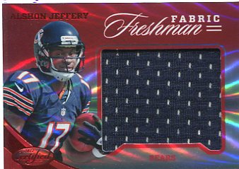 2012 Certified Mirror Red Materials #327 Alshon Jeffery/149