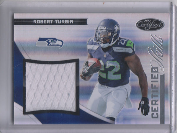 2012 Certified Certified Skills Materials #4 Robert Turbin