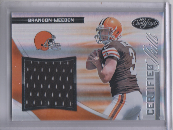 2012 Certified Certified Skills Materials #21 Brandon Weeden