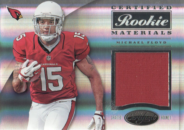 2012 Certified Certified Rookie Materials #20 Michael Floyd