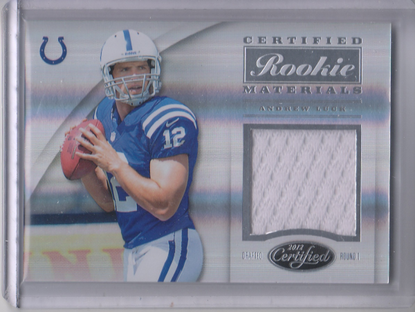2012 Certified Certified Rookie Materials #32 Andrew Luck