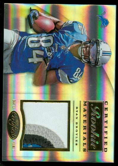 2012 Certified Certified Rookie Materials Prime #3 Ryan Broyles