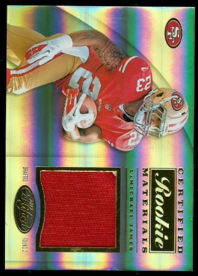 2012 Certified Certified Rookie Materials Prime #27 LaMichael James