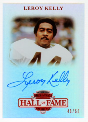 2012 Press Pass Legends Hall of Fame Red #LGLK Leroy Kelly/50