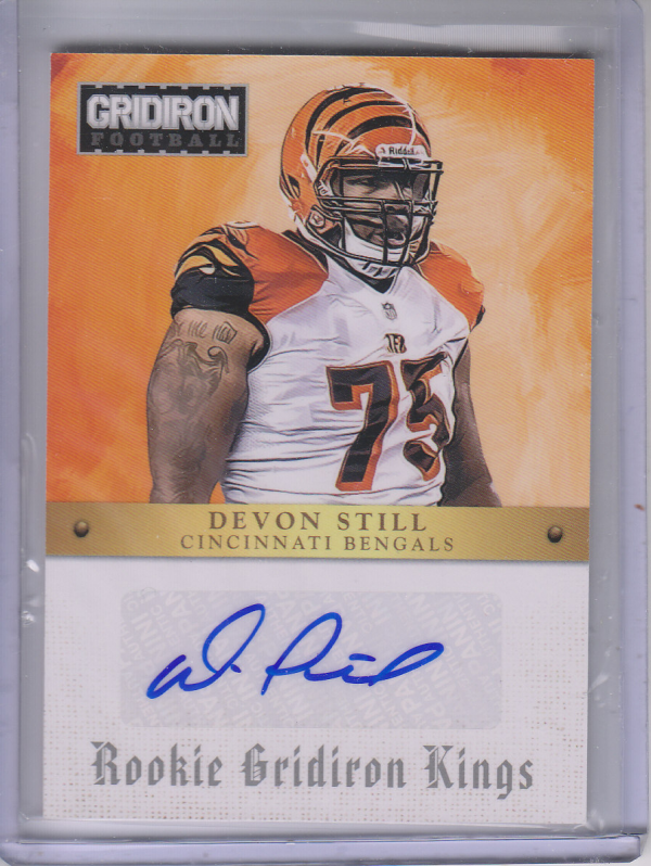 2012 Gridiron Rookie Gridiron Kings Autographs #25 Devon Still