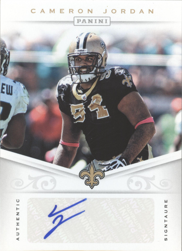 2012 Panini Signatures #15 Cameron Jordan